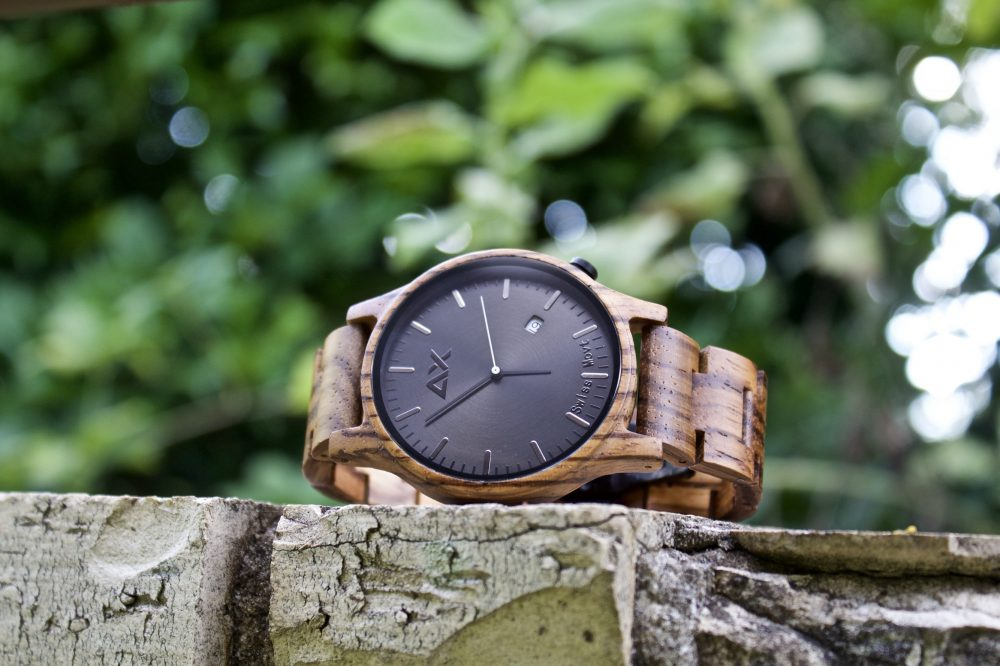 Men Formal Wooden Watch, Fathers Day Graduation Boyfriend Custom Groom Best Man Wedding Gift