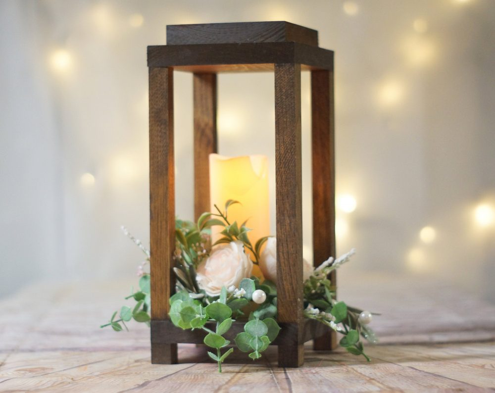 Forest Lantern, Rustic Wedding Centerpiece, Candle Holder, Wood Candle, Centerpiece For Wedding, Lantern Decor, Farmhouse Table Ideas