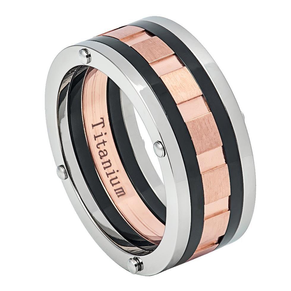 9mm Titanium Wedding Ring, Ring Band, Comfort Fit Anniversary Free Engraving