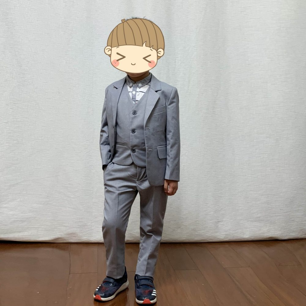 Ring Bearer Suit Made-To-Order 3 Pieces Blazer Vest Pants