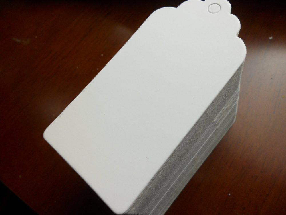 50/100/150 Pcs Large Rectangle Blank Printable Tags, Kraft Luggage Tags For Wedding Favors, Personalized Favor Tags - 90mmx45mm