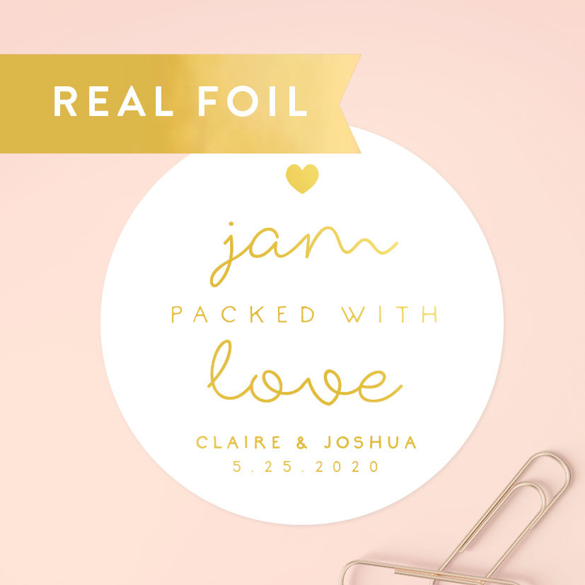 Mason Jar Labels, Jam Packed With Love Sticker, Spread The Wedding Favor, Homemade Jelly Label, Shower Favors, C018