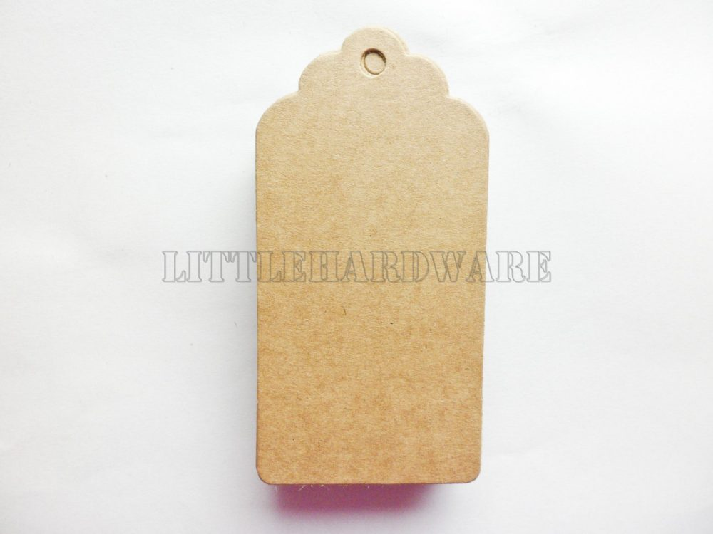 150Pcs Large Rectangle Blank Printable Tags, Kraft Luggage Tags For Wedding Favors, Personalized Favor Tags, Printable Tags