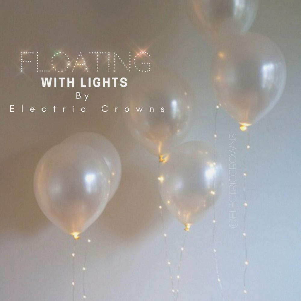"""Engagement Party Decorations, Ideas, Outdoor, Led Balloon, Reusable, 12"""", 17"""", Floating Twinkle Lights"""