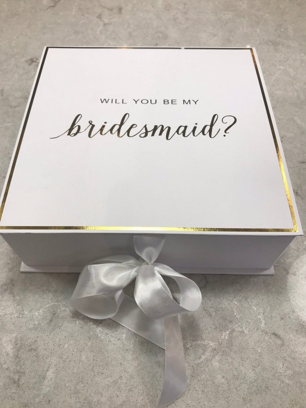 Bridesmaid Proposal Box, Will You Be My Bridesmaid, Bridal Party Gift, Gift, Shower Favour