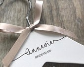 Engraved wedding hanger personalised wedding dress hanger laser engraved free postage