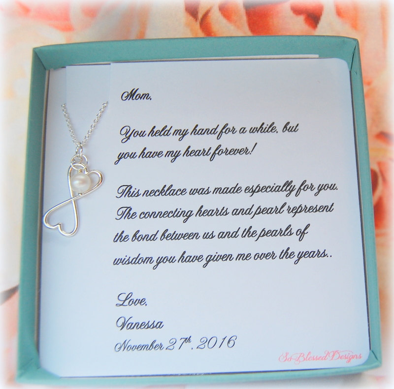 Mother Of The Bride Wedding Gift, Groom, Gifts For Mom, Wedding Jewelry, Mothers Day Gift , Grandmother Bride