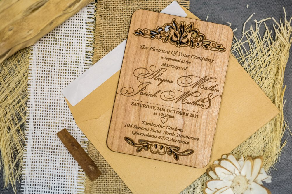 Custom Wedding Cards, Wooden Rustic Invitation, Winter Wedding, Barn Card, Laser Cut Invitation Rustic, Unique Card