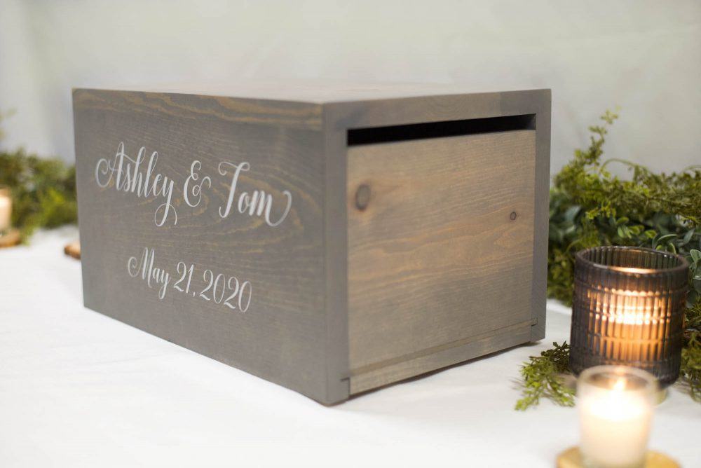 Wedding Card Box, Money Rustic Card Box, Wood Wedding Holder