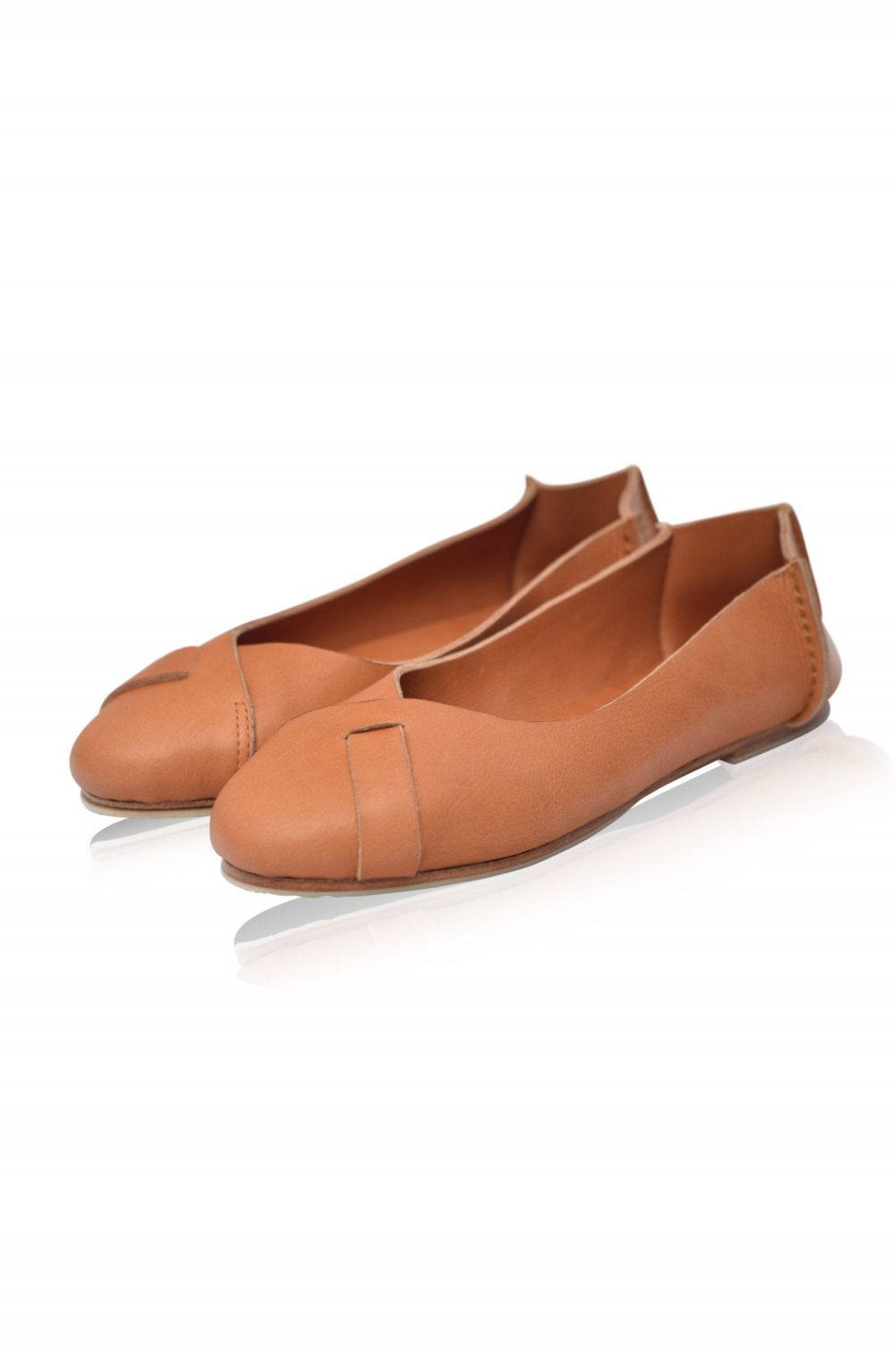 Native. Ballet Flats/Womens Leather Shoes Flat Ivory Wedding Shoes. Sizes Us 4-13. Available in Different Colors