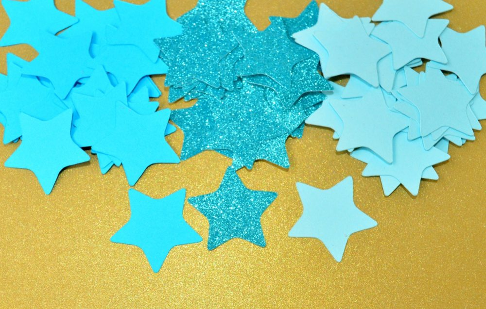 Twinkle Little Star Table Scatter Confetti Party Decor First Birthday Birthday