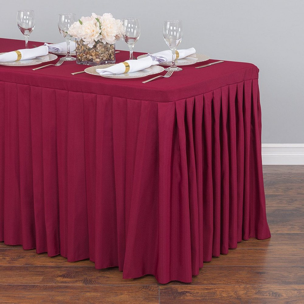 6 Ft. Fitted Table Skirt