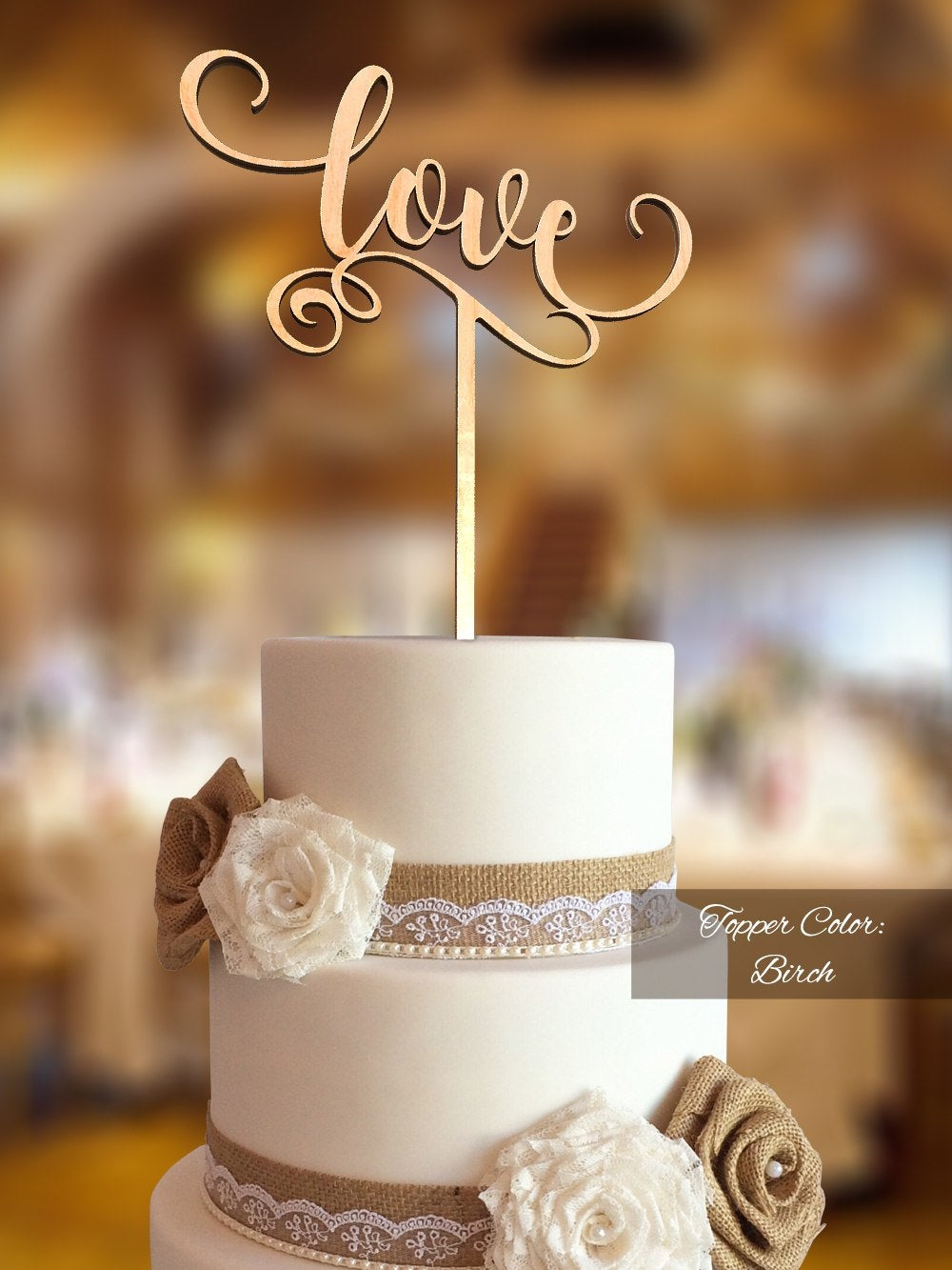 Love Cake Topper. Wedding Fnlv02. Rustic Topper Wedding. Cake For Topper