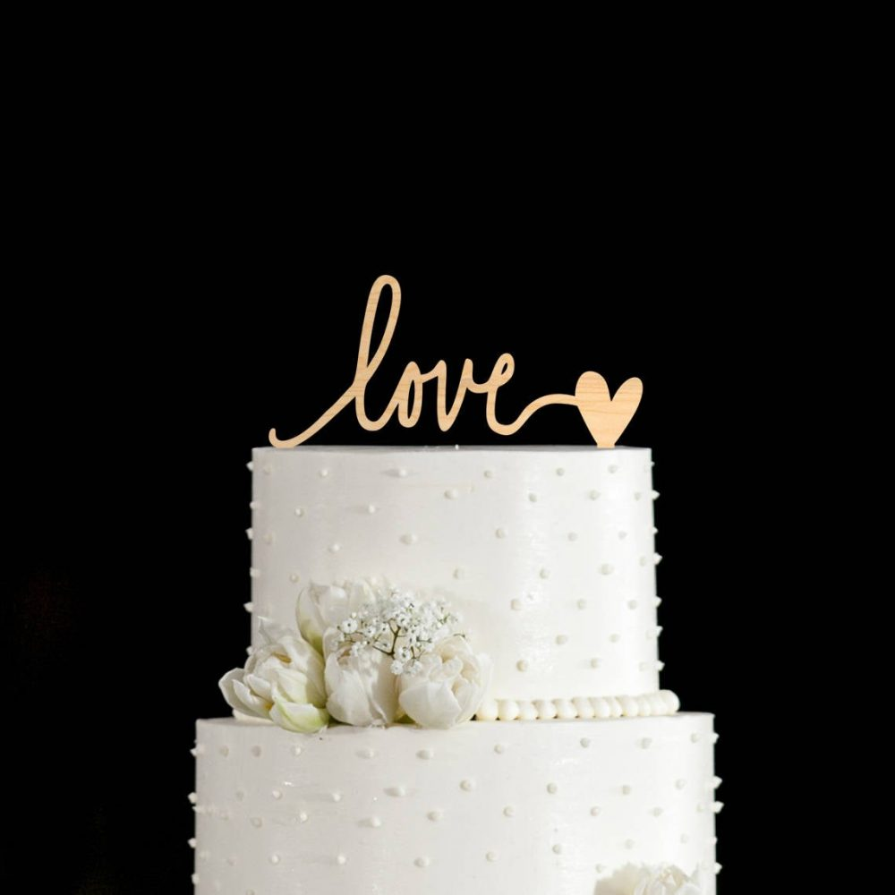 Love Wedding Cake Topper, Love Cake Topper, Cake Toppers For Wedding, Cake Topper Love, Rustic Topper, Cake Wedding, 627