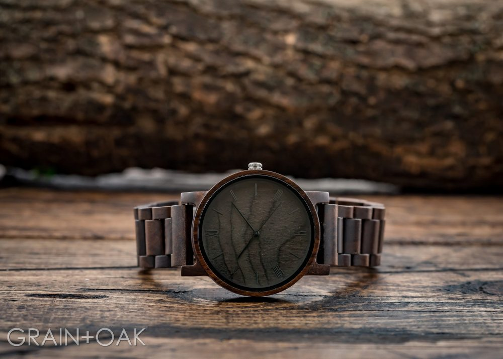 Wooden Watch Engraved For Men, Set Of 4, Groomsmen Gifts, Wood Watch, Personalized Gift Groom