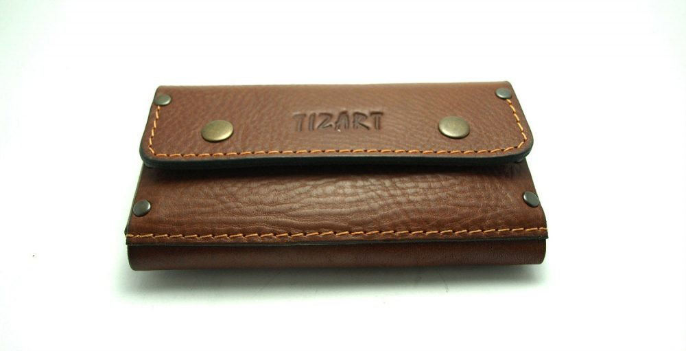 New Brown Cowhide Wallet For All Phone Models Genuine Leather Cell Phone Case With Pocket Card Id Belt Loop Gift Ideas Personalized