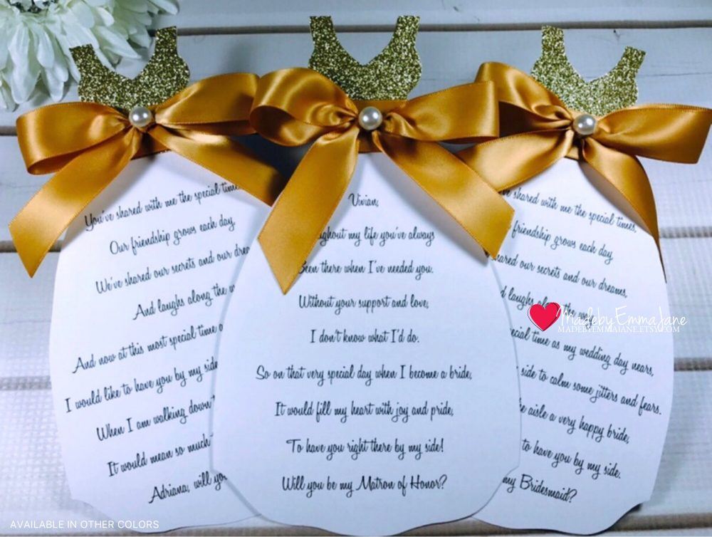 Will You Be My Bridesmaid Cards Bridesmaid Proposal Cards Wedding Party Cards Will Maid Of Honor Will Honor Card