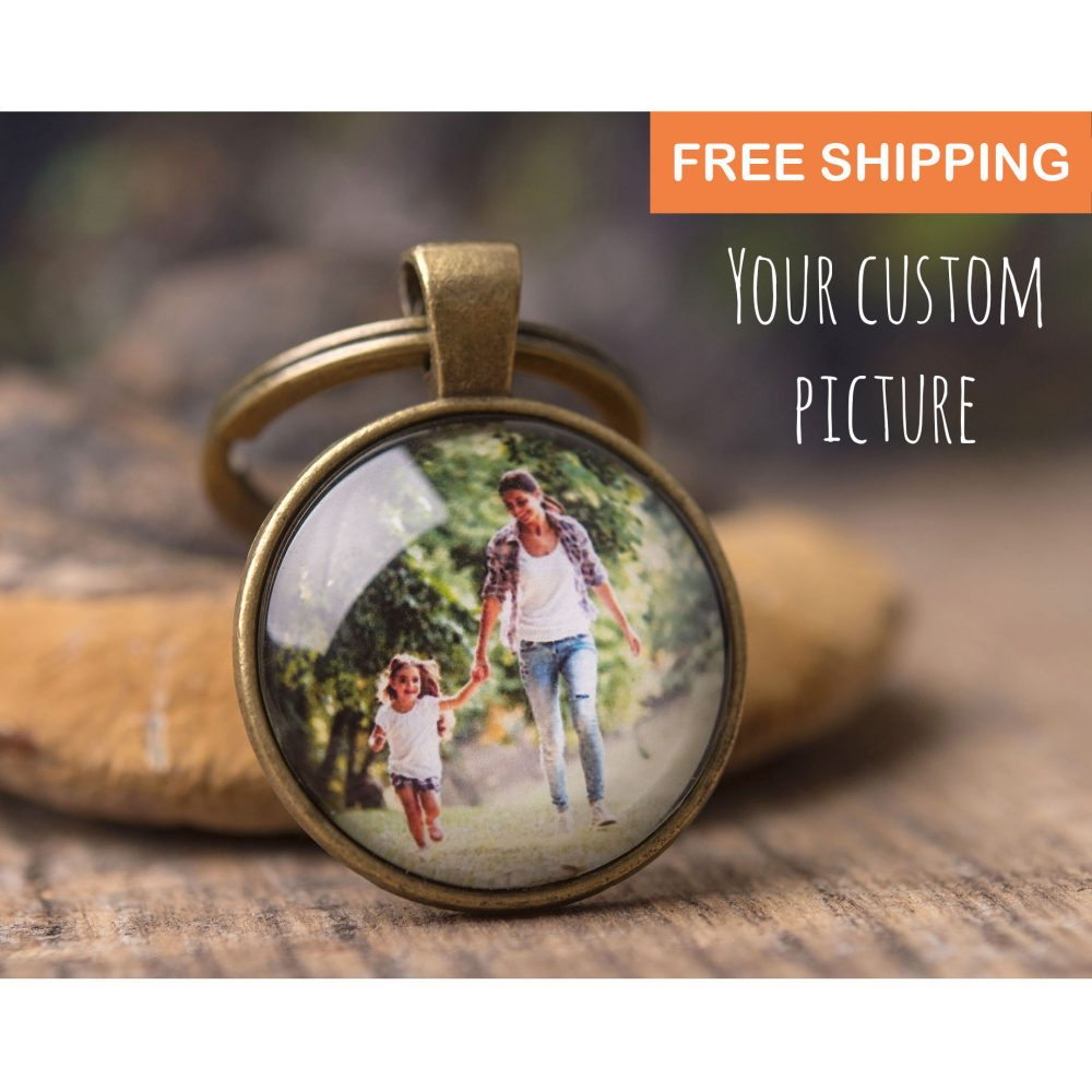 Gift For Mom, Mother Gift, Gift Wife, Personalized Keychain, Father Dad, Husband Women, Men