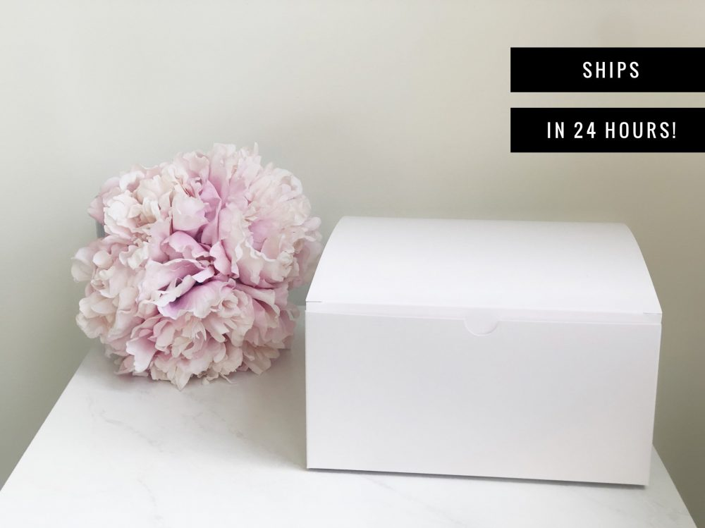 Blank Gift Box - Large Bridesmaid Proposal Boxes - White Box For Party Wedding Favor Bulk