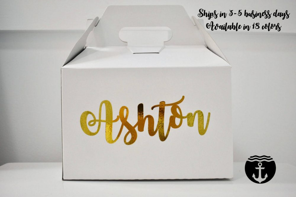 Bridesmaid Proposal Box Morning Of Wedding Gift, Will You Be My Bridesmaid, Personalized Gift, Rehearsal Dinner Gift Box