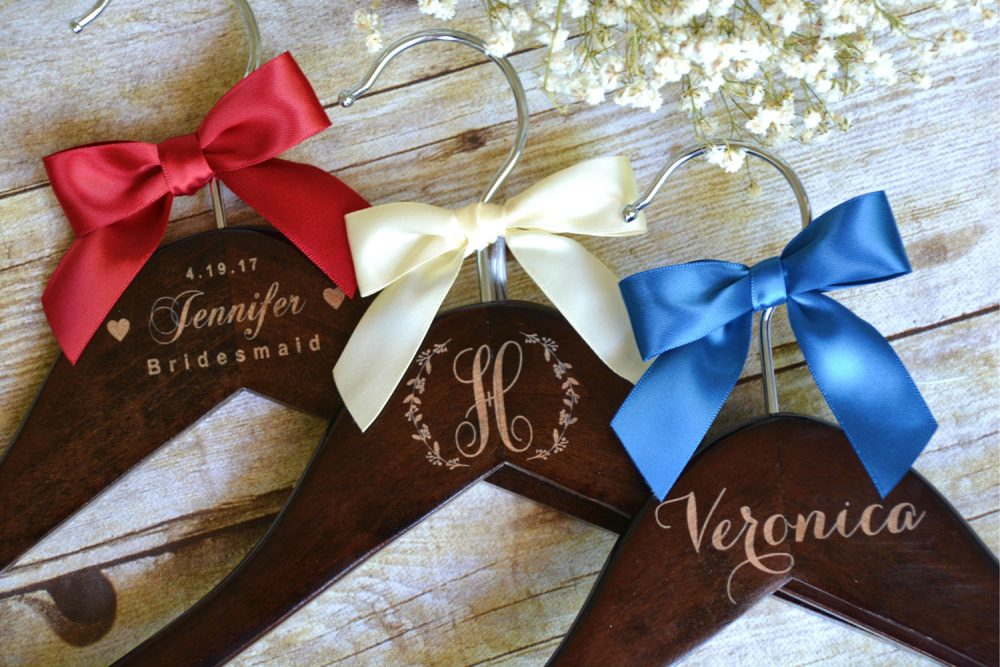 Bridesmaid Gifts, Personalized Wedding Hangers, Bridal Party Gift, 10 Custom Mother Of The Groom Bride Hanger, Dress Hanger