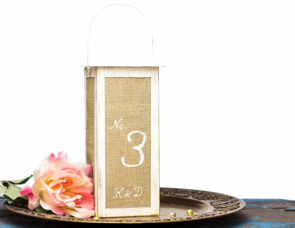 Table Numbers Wedding, Rustic Lantern Centerpiece, Wedding Decor Decorations Reception Country Barn