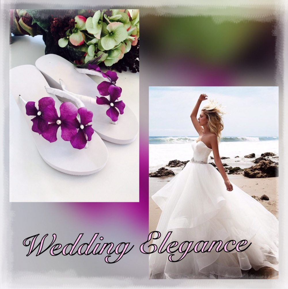 Bridal Flip Flops.wedding Shoes.bridal Sandals.wedding Sandals.bridal Wedges.flip Flops.bridal Shoes. Newlywed Gifts