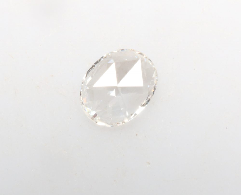 0.17 Ct 4.8 X 3.7 Mm White Oval Diamond, Natural Loose White Ef Color Vvs Clarity, Shape Engagement Diamond Ring R6519