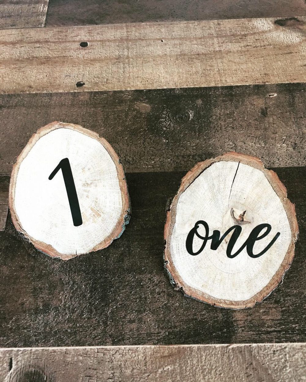 Wedding Decor Table Numbers|Table Number Wedding|Wood Slice Numbers|Single Number|Wood Slices|Woodland Baby Shower
