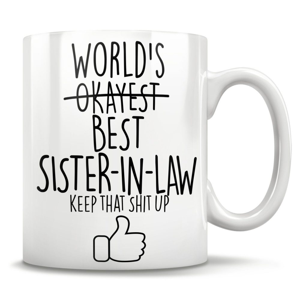 Sister-In-Law Gifts, Sister Of The Groom, Wedding Party Mug, Sister in Law Coffee Sister-In-Law Christmas Gift