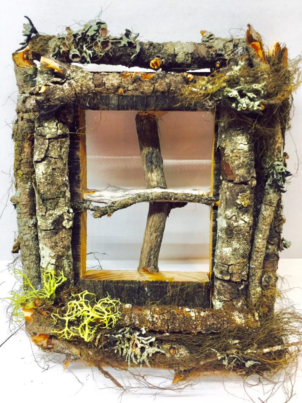 Fairy Window/ Lord Of Rings/ Enchanted Forest/ Door Reclaimed Wood/Weddings/Woodland Party