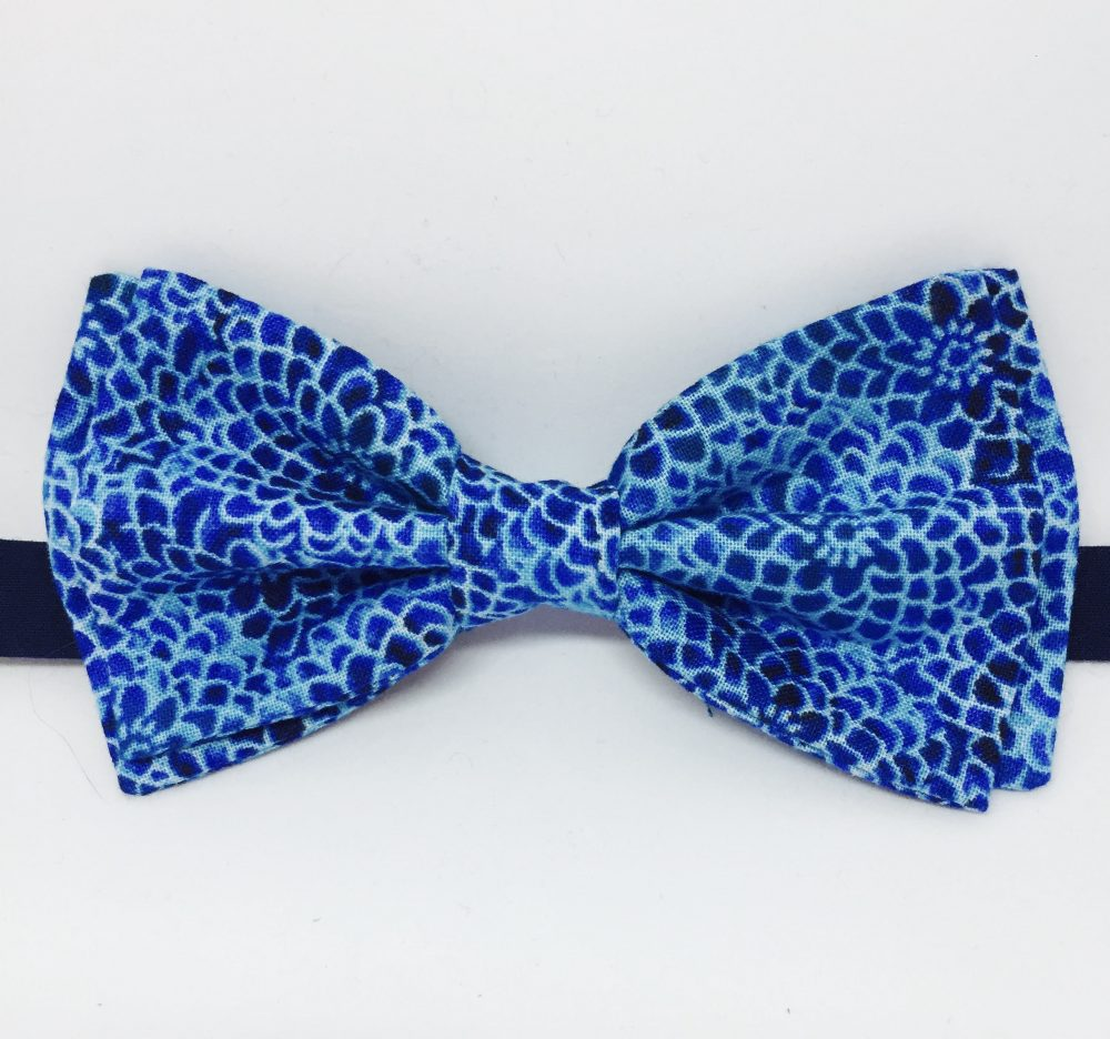 Royal Blue Bow Tie, Mens Cobalt Turquoise Ring Bearer Clip-On Bow, Easter Boys Tie