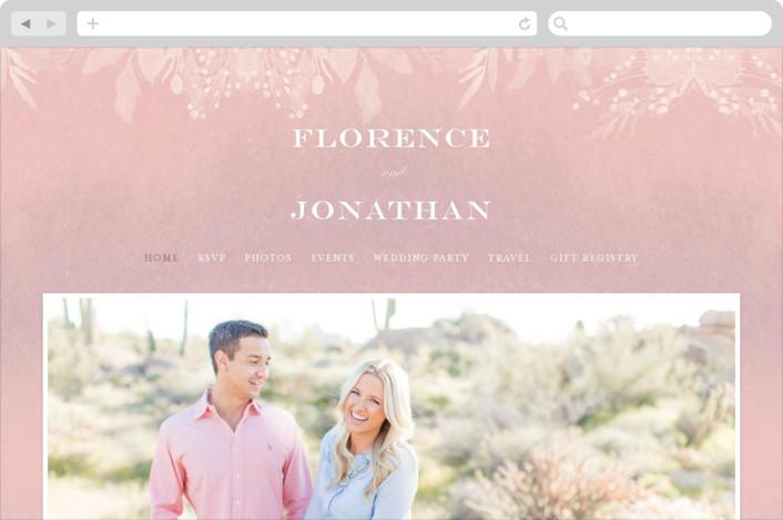 Summer Bliss Wedding Websites