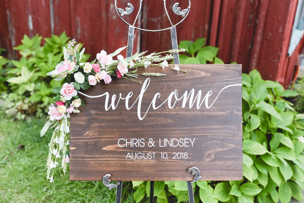 Wedding Welcome Sign -Rustic Wedding Decor- Rustic Wood Sign- Wood Sign - Personalized Welcome