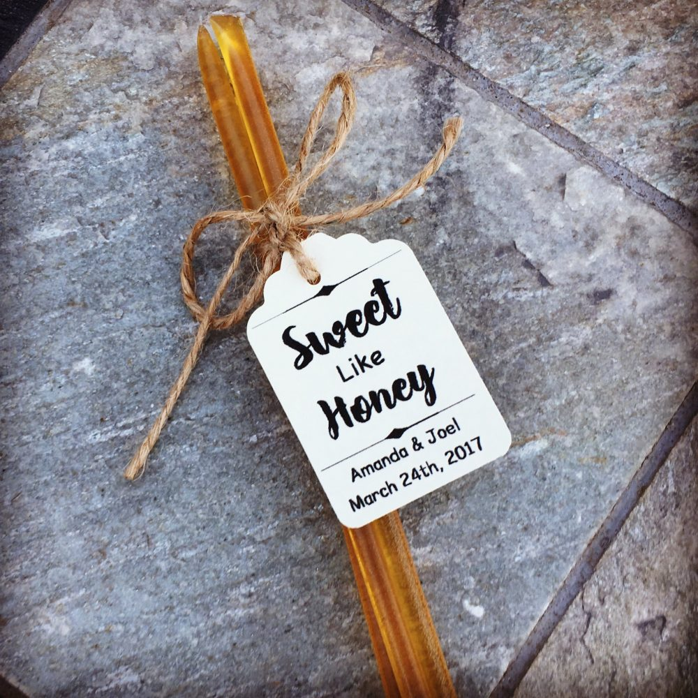 Sweet Like Honey Wedding Favor Kits. Select Amount 25-100 Kits. Custom Personalized Tags & Twine Ties. Unique Favors. Edible. Party Favors