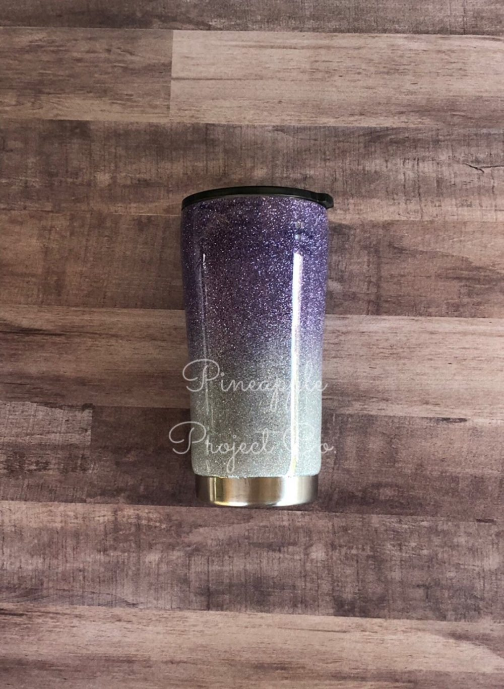 Purple Glitter Yeti-Glitter Tumbler-Glitter Cup-Yeti Cup-Monogram Cup-Sparkle Cup-Personalized Name Tumbler