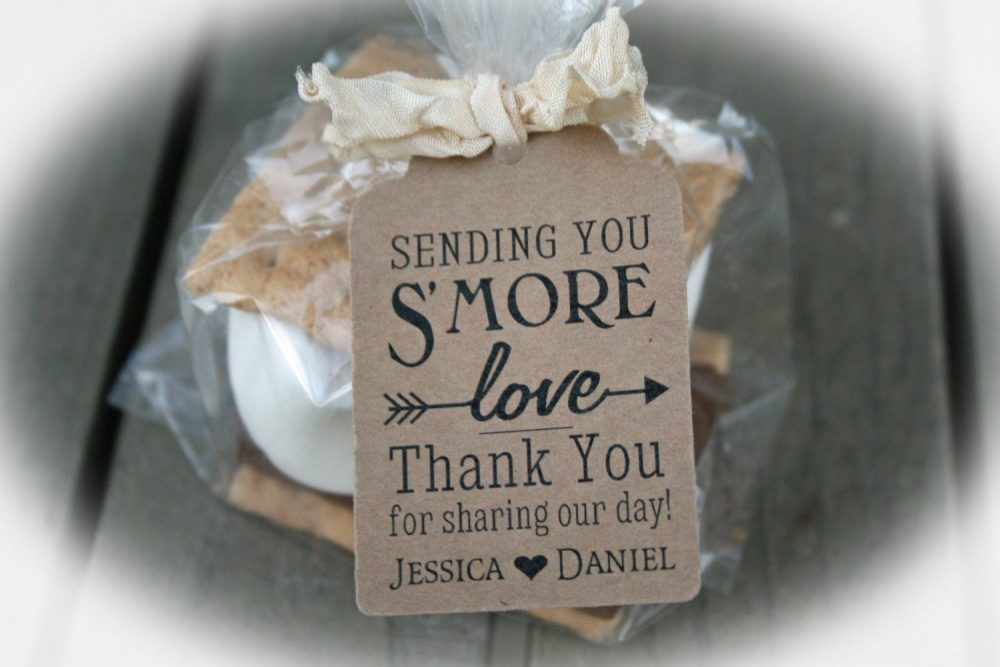 Smore Love Wedding Favor | Kit S'more Love With Arrow - Tags Only Or Diy Kits
