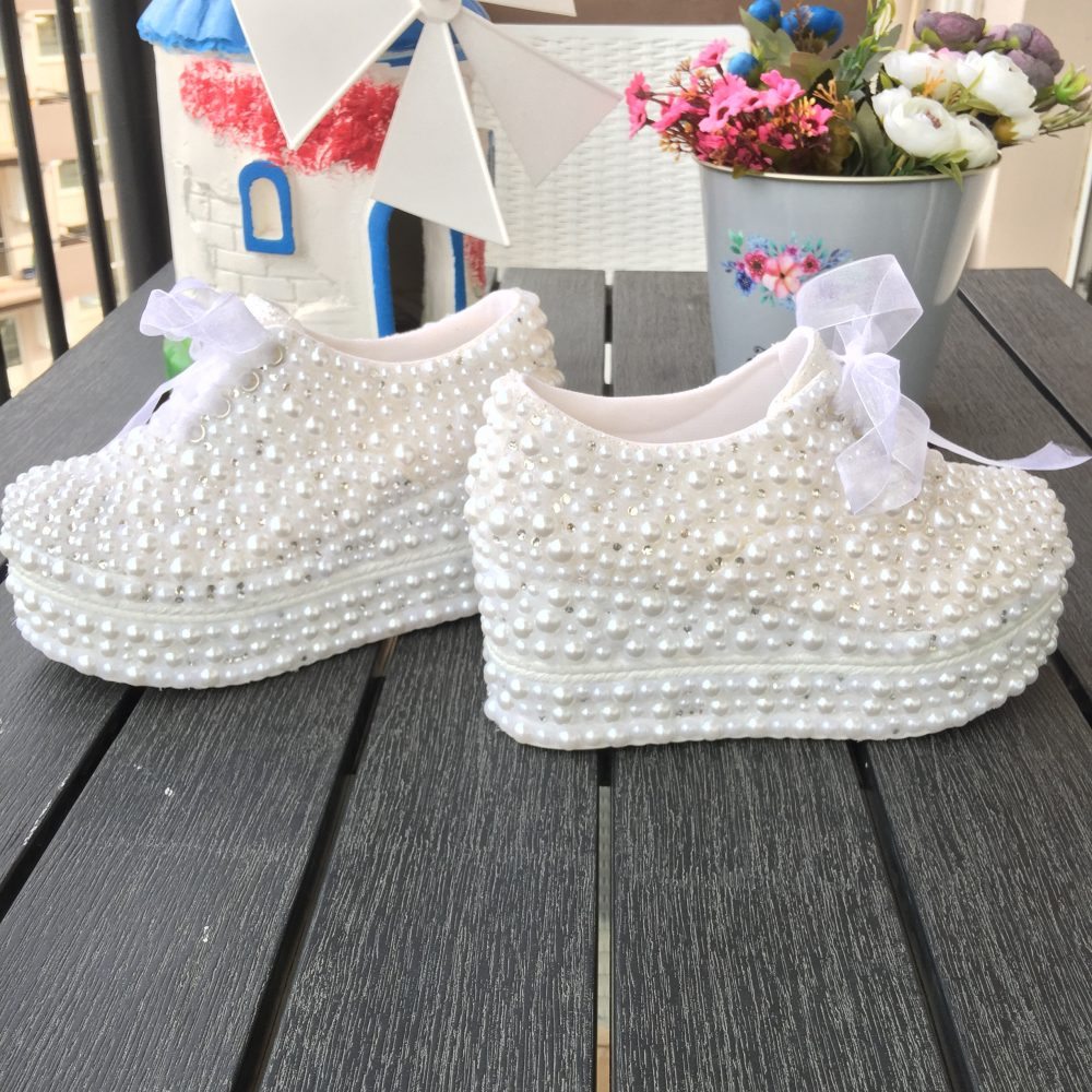 Wedding Shoes, , Platform Bridal Heels, Women's Brides Weddings, Bridal, Lace Shoes, Pearl Shoes