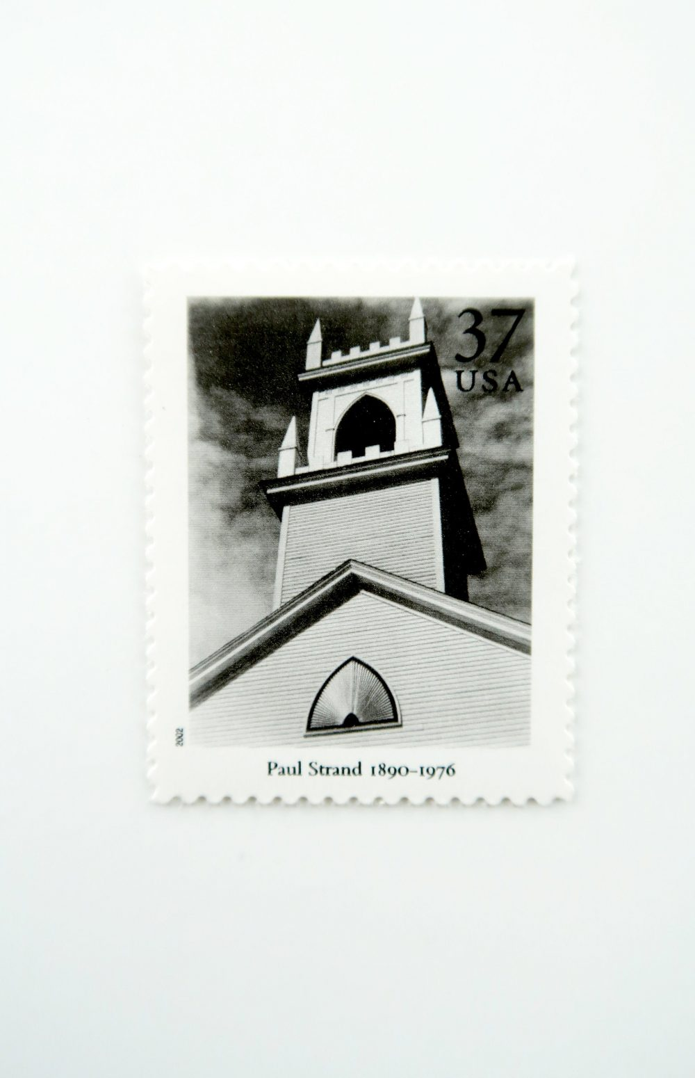 5 Masters Of American Photography Postage Stamps // Unused 37 Cent Stamp Paul Strand Steeple Modern Wedding Postage