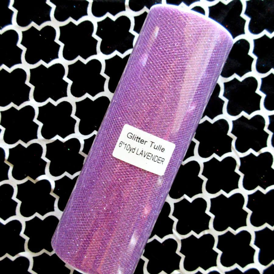 "Lavender 6"" X 30 Ft Tulle Roll 31 Colors/Spool Rolls Wedding Decoration Tutu Mix & Match Create Your Own Theme"