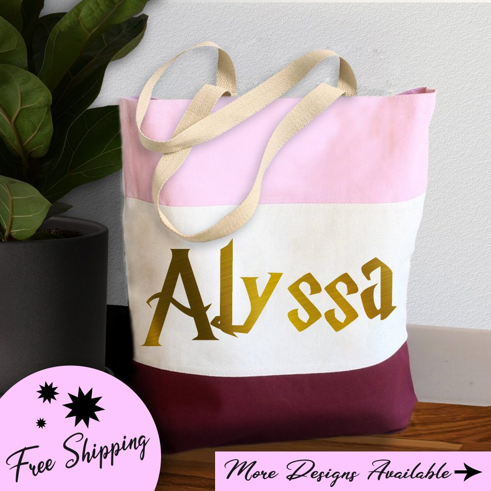 Bridesmaid Gifts|Tote Bag Canvas|Wizard Theme|Wedding Gift|Tote Women|Bridesmaid Gift|Personalized Tote Bag|Bridal Gifts|Bridal Shower