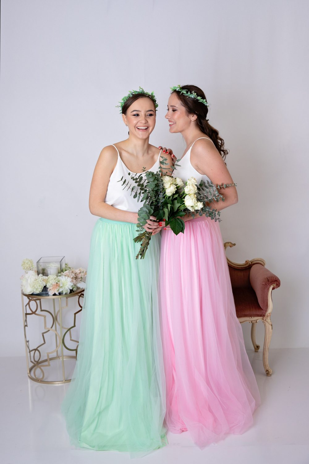 Free Shipping Soft Long Tulle Skirt/Wedding Bridesmaid Dress Tully Skirt For Photo Shoot