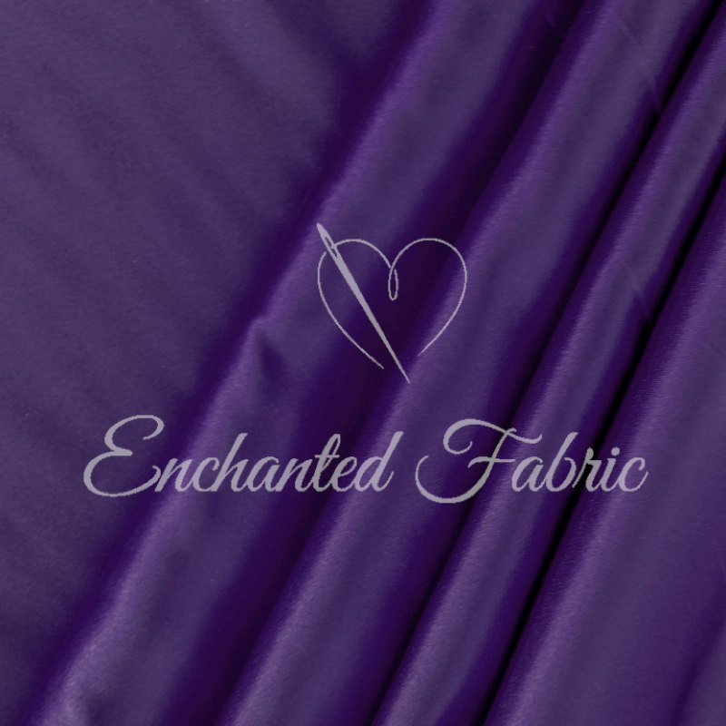Purple Wedding Bridesmaid Dress Charmeuse Fabric For Prom & Bridesmaids Dresses, Party Decoration Fabric, Apparel, Dresses - 1002