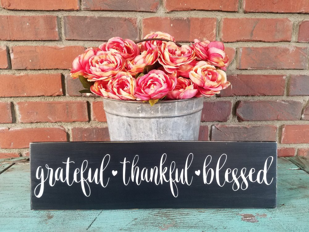 Grateful Sign. Rustic Mother Sign, Farmhouse Style Mothers Day Signs, Gifts For Moms, Gifts, Signs Mom