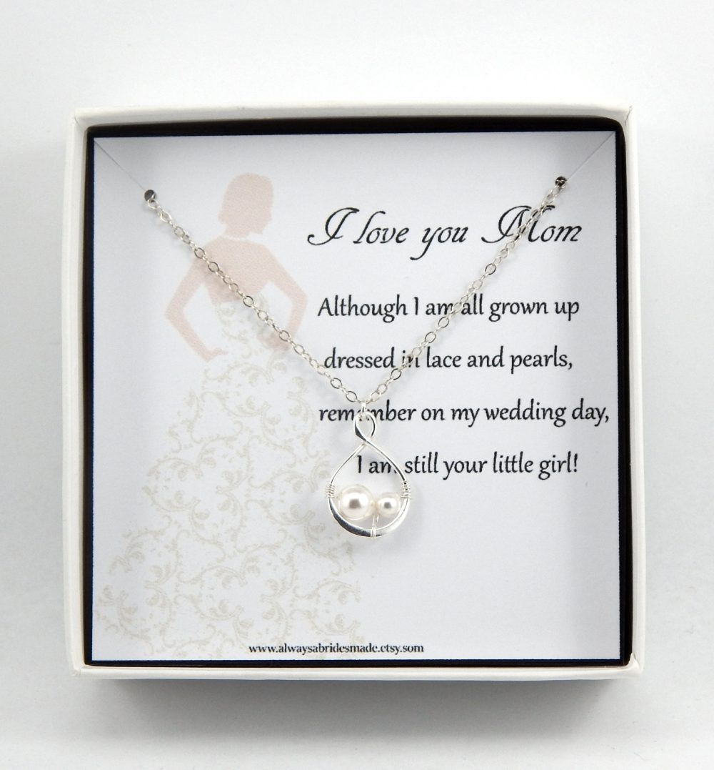 Mother Of The Bride Necklace Gift, Of The Necklace, Mother Wedding Gift For Mother, Mother's