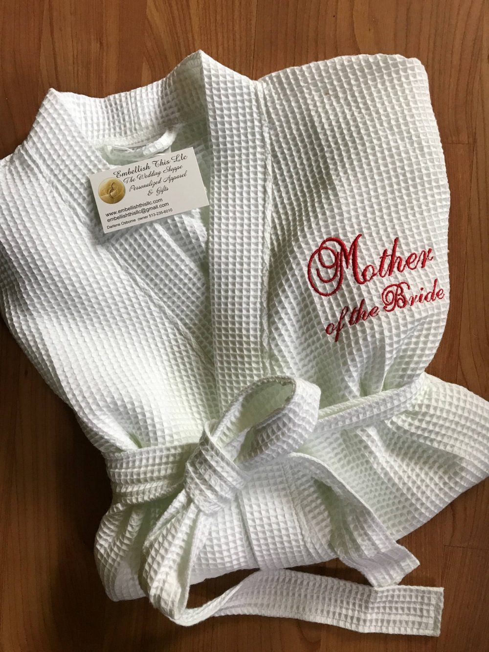 Mother Of Bride Robe, Personalized Spa Robe, Mob & Mog Gifts, Bridal Party Robes, Wedding Mom's Mothers Day Gifts