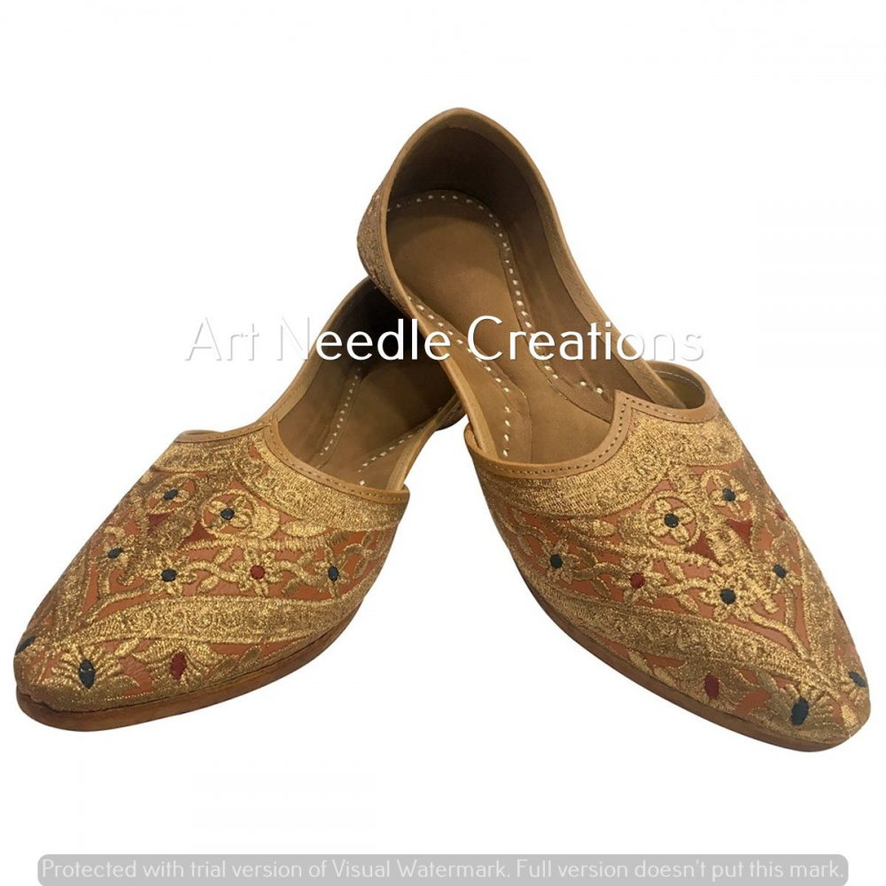Handmade Punjabi Jutti For Mens Mojari Khussa Shoes Men Flip Flops