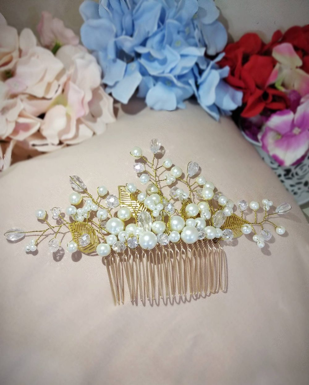 Bridal Hair Vine, Wedding Crystal Tiara, Gold Silver Comb, Prom Pieace, Luxury Accessories