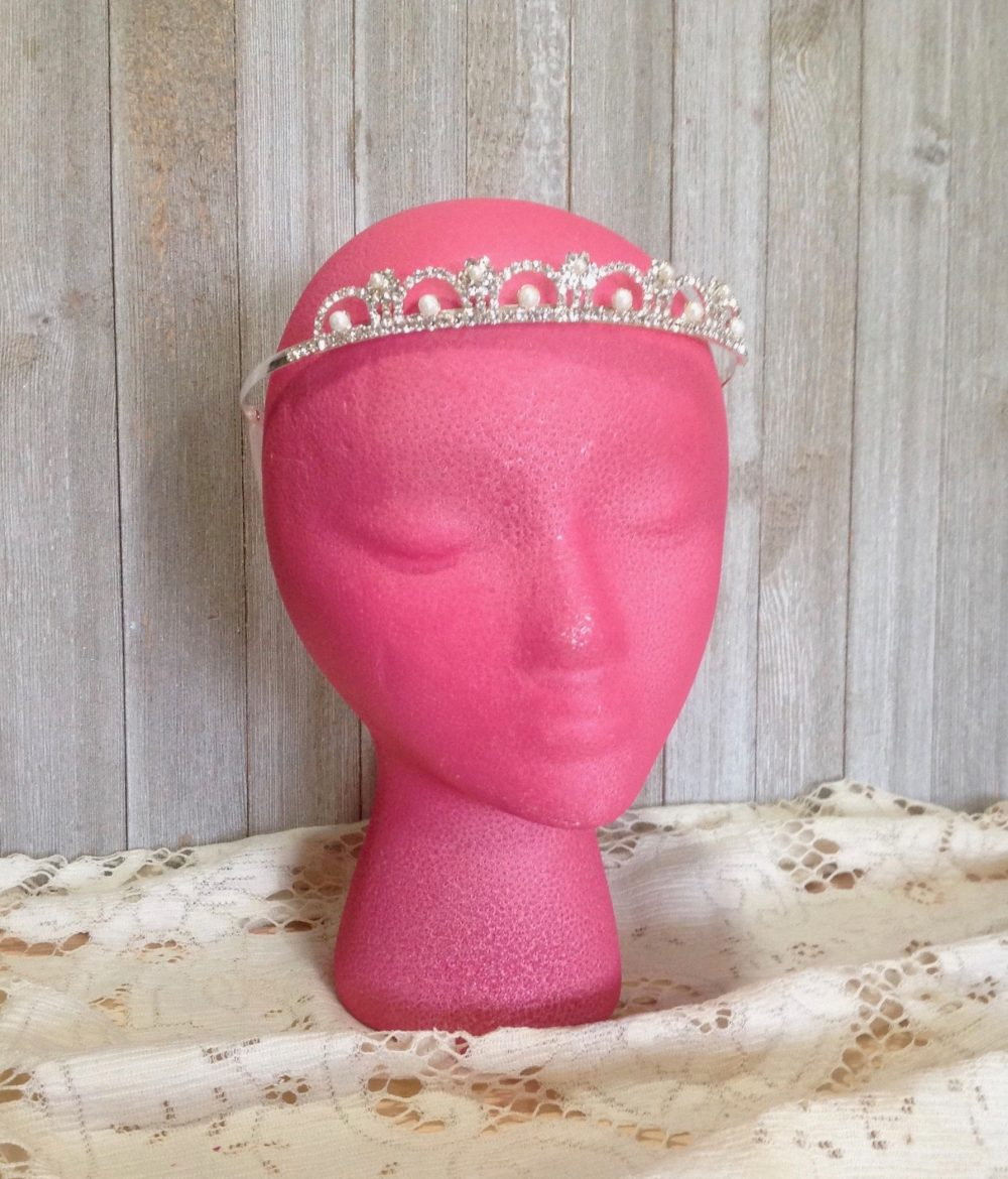 Tiara Hair Accessory - Jewelry Quinceanera Sweet 16 Princess Party Wedding