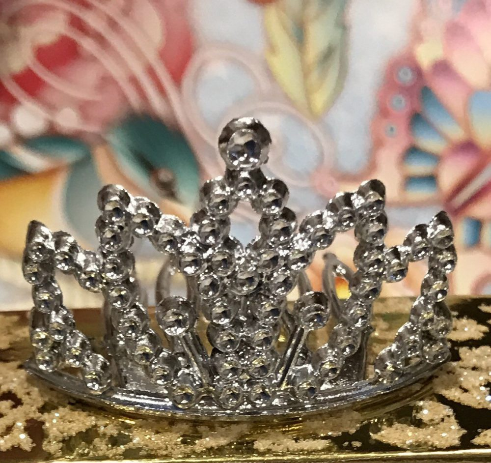 Small Crowns To Make Princess Theme Party Favors, Tiaras, Silver Crowns, Baby Shower, Quinceanera, Sweet 16 Decorations, Craft Supply